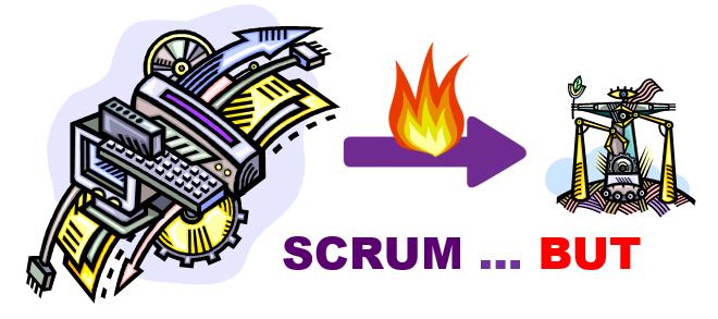 Scrum but